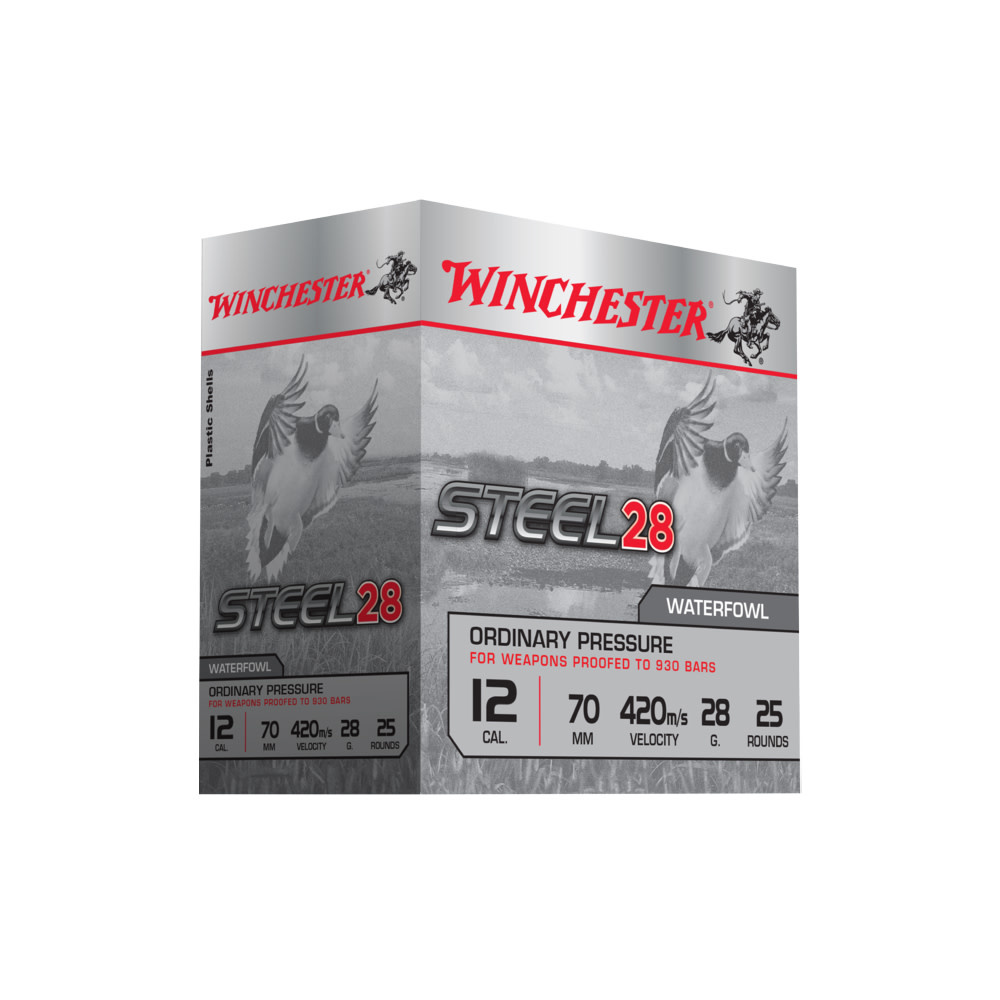 Winchester Steel 28 Ordinary Pressure Kal 12 H5/28G-1