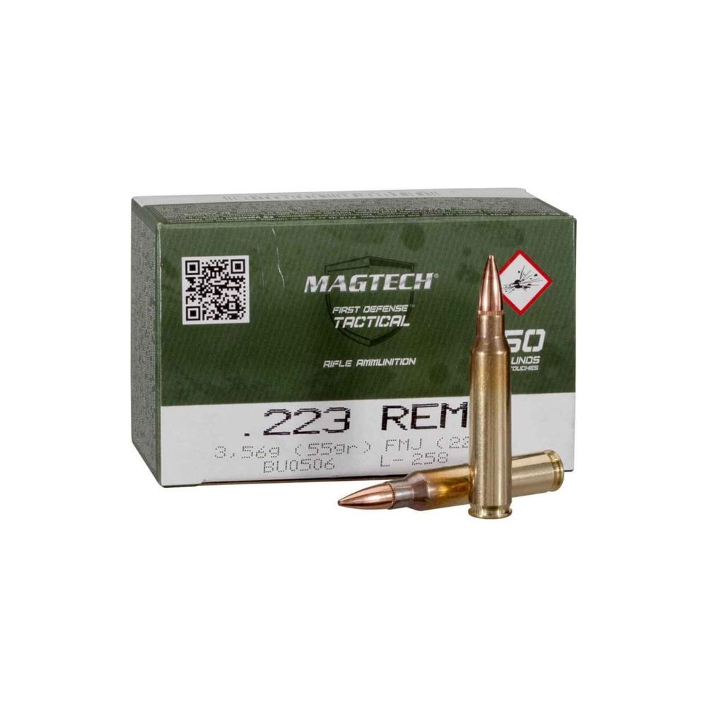 Magtech FMJ 55gr.  .223 Rem-1