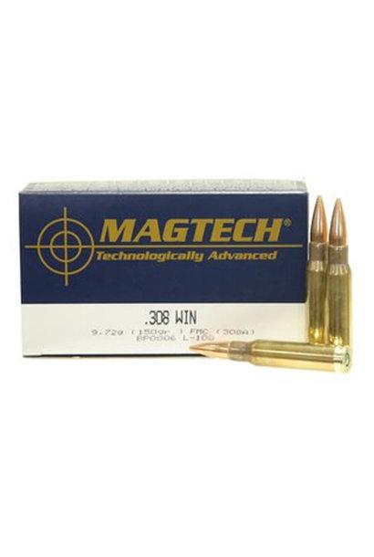 Magtech FMJ 150gr. .308 Win