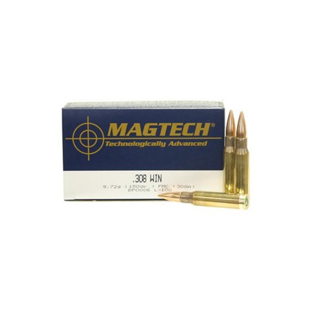 Magtech FMJ 150gr. .308 Win-1
