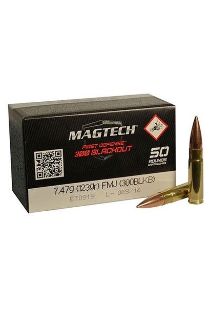 Magtech FMJ 123gr. .300 Blackout