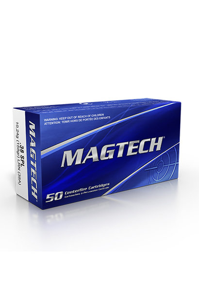 Magtech .38 SPL 185gr LRN