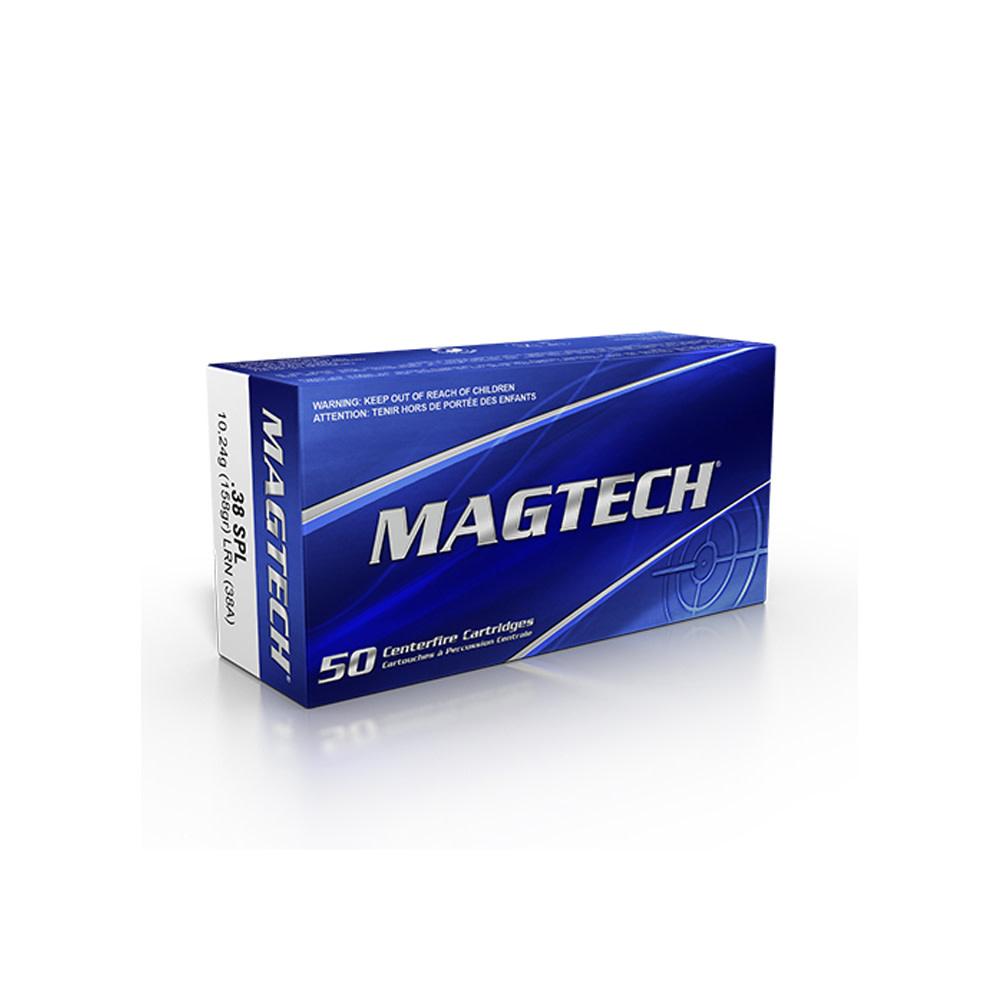 Magtech .38 SPL 185gr LRN-1