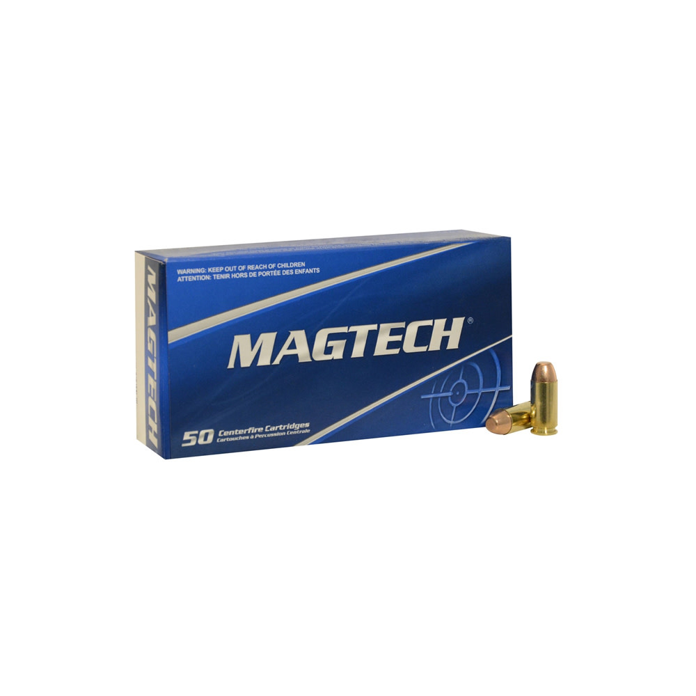 Magtech FMJ Flat 180gr. .40 S&W-1