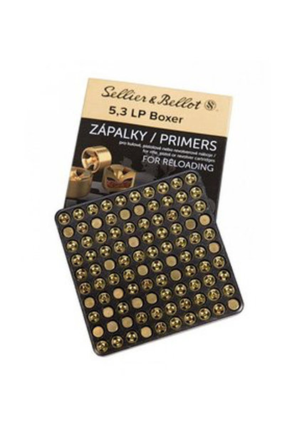 Sellier & Bellot Large Rifle Primers (5,3 Boxer)