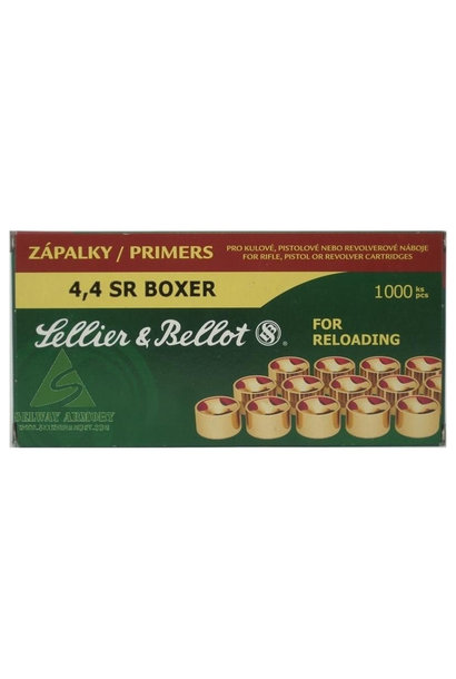 Sellier & Bellot Small Rifle Magnum Primers (4,4 Boxer)