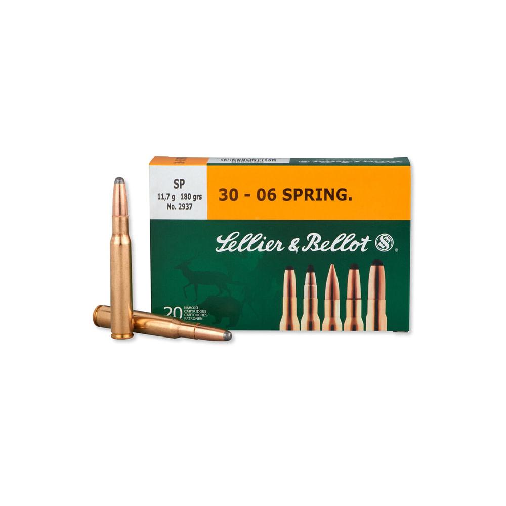 Sellier & Bellot SP 180gr. .30-06 Spr.-1