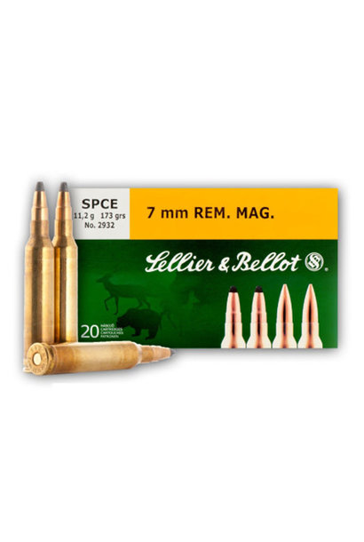 Sellier & Bellot SPCE 173gr. 7 mm Rem. Mag.