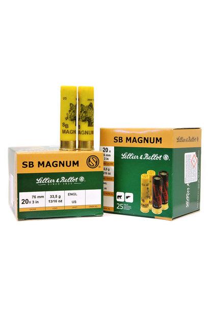 Sellier & Bellot SB Magnum 33,5g H4 20 *Lood