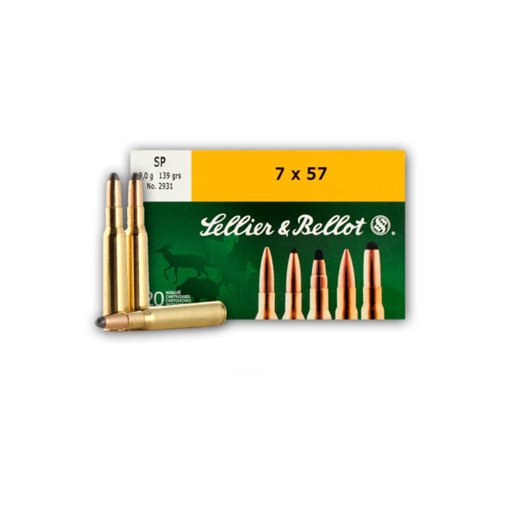 Sellier & Bellot SP 139gr. 7x57-1