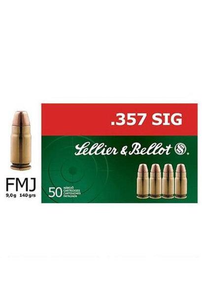 Sellier & Bellot FMJ 140gr. .357 Sig