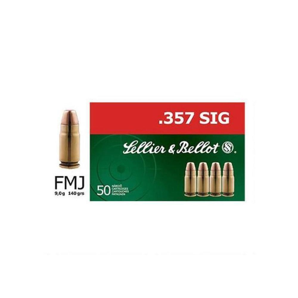 Sellier & Bellot FMJ 140gr. .357 Sig-1