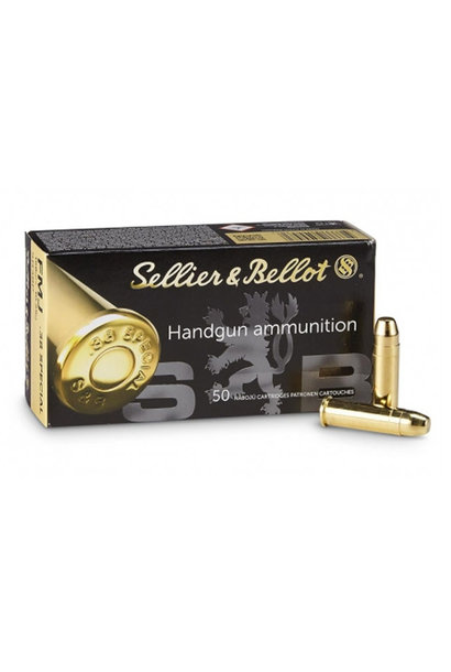 Sellier & Bellot FMJ 158gr. .38 Special
