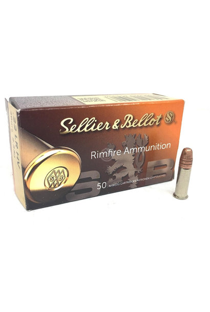 Sellier & Bellot High Velocity 40gr. .22 LR
