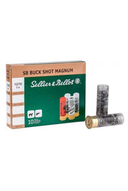 Sellier & Bellot Buck Shot Magnum 53gr. 8.43mm (15) 12/76