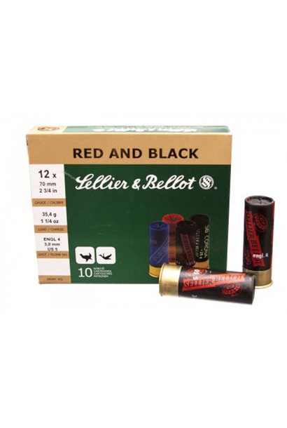 Sellier & Bellot 16/65 Red and Black 28.4g H7