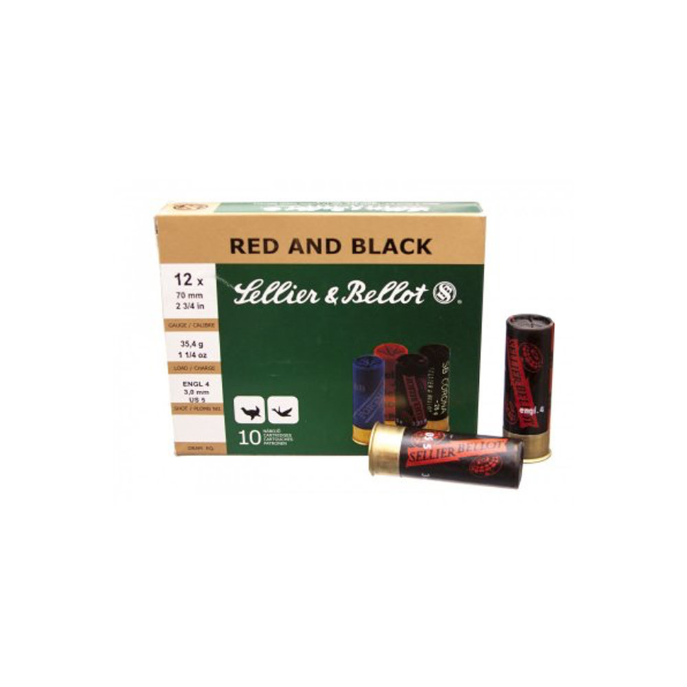 Sellier & Bellot 16/65 Red and Black 28.4g H7-1