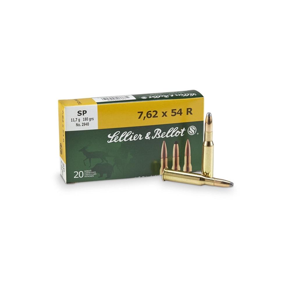 Sellier & Bellot FMJ 7,62x54R 180gr-1
