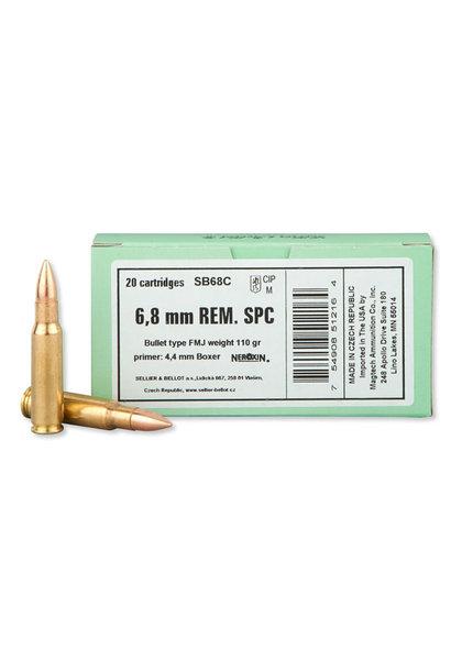 Sellier & Bellot FMJ 110gr. 6,8 mm REM. SPC