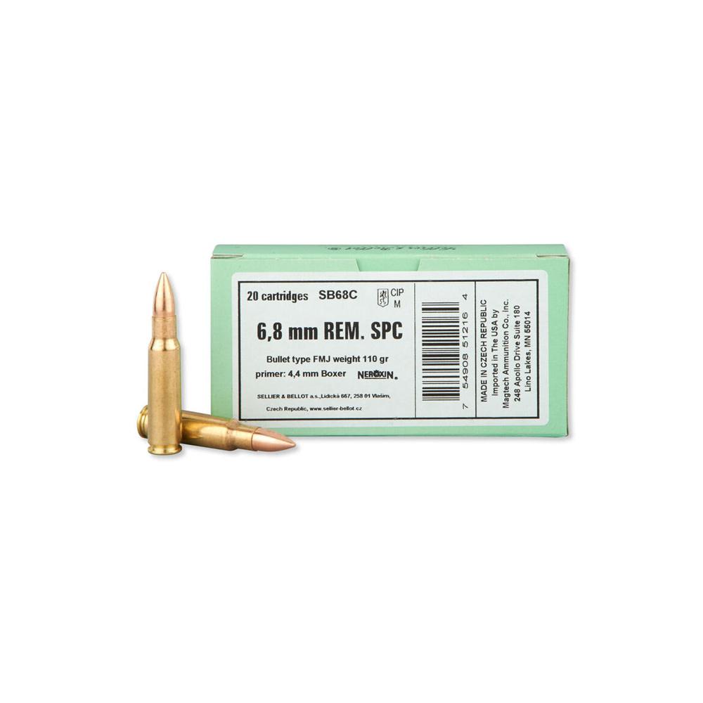 Sellier & Bellot FMJ 110gr. 6,8 mm REM. SPC-1