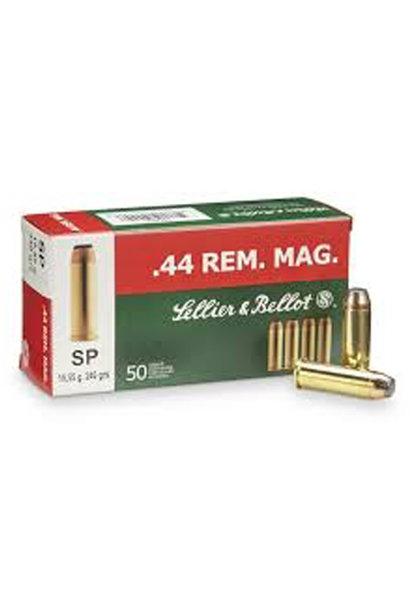 Sellier & Bellot SP 240gr. .44 REM MAG