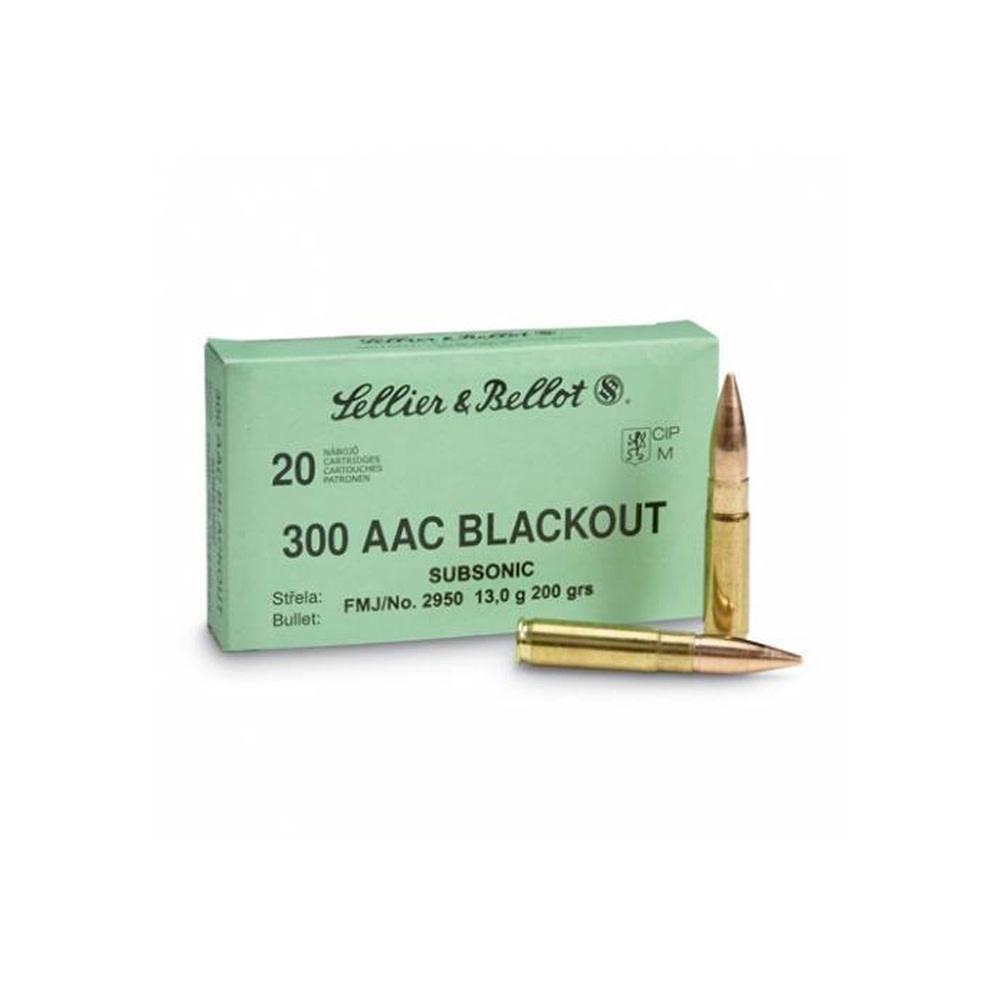 Sellier & Bellot .300 AAC BLK 200gr Subsonic-1