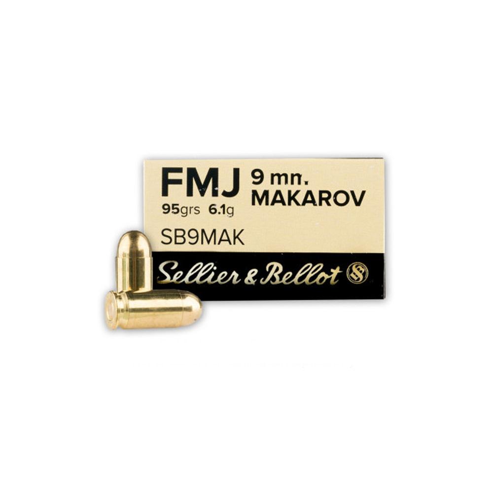 Sellier & Bellot FMJ 95gr. 9mm Makarov-1