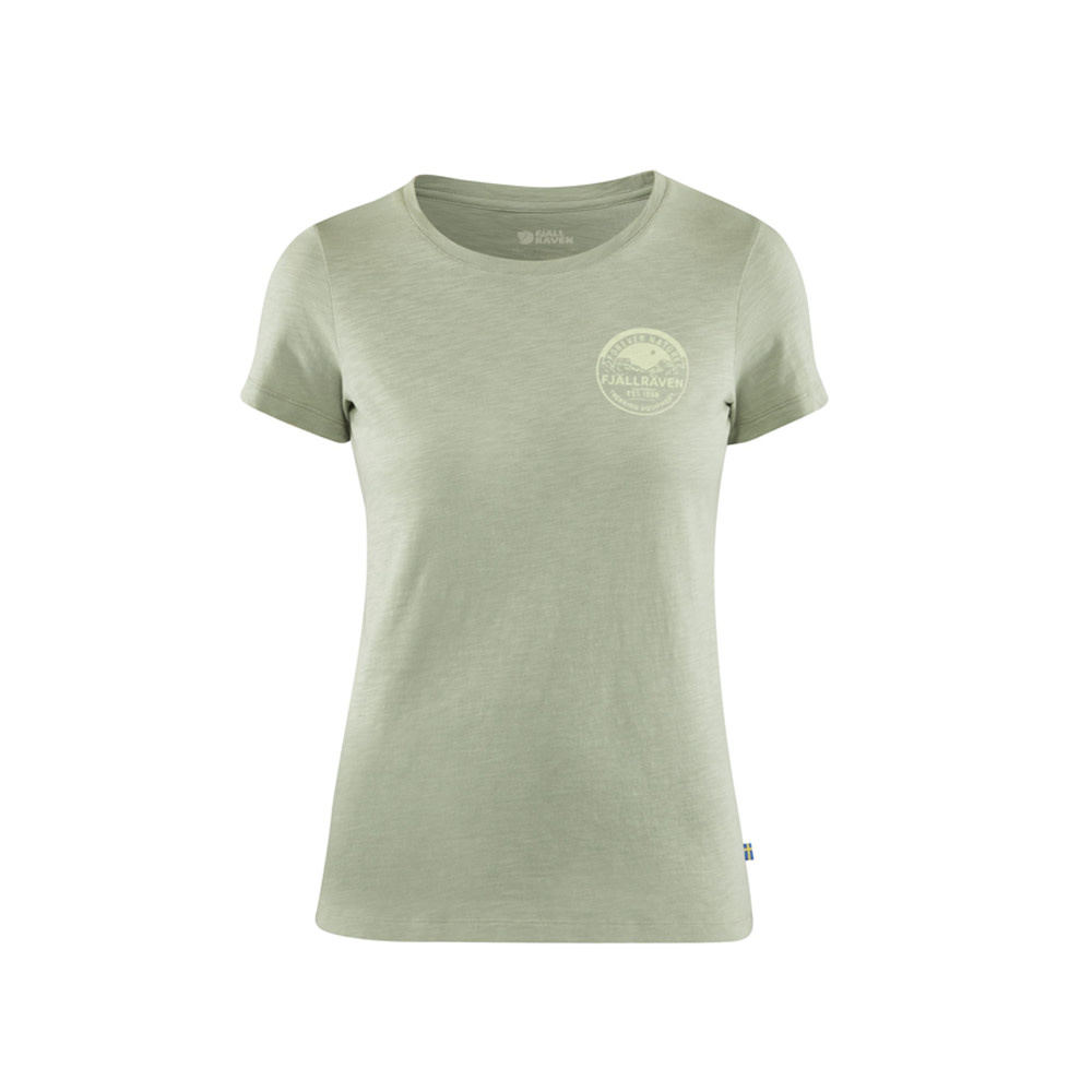 Fjällräven Forever Nature Badge T-Shirt - Light Olive-1