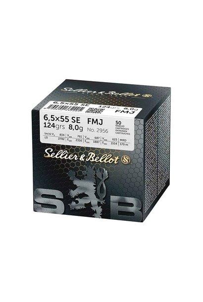 Sellier & Bellot FMJ 140gr. 6,5x55 SE