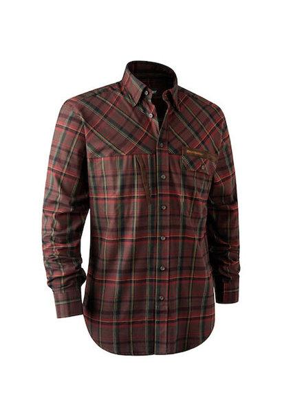 Deerhunter Rhett Overhemd - Red Check