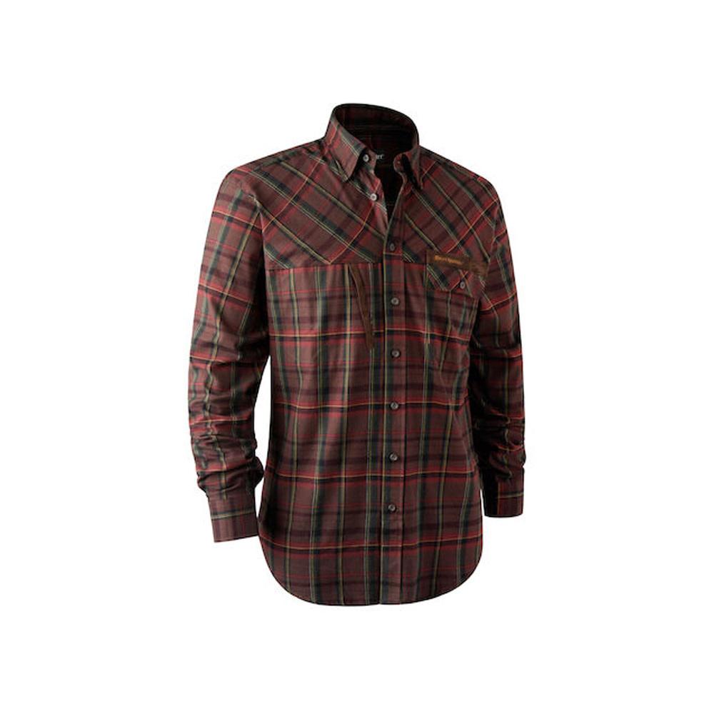 Deerhunter Rhett Overhemd - Red Check-1