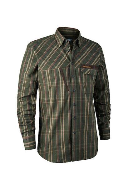 Deerhunter Keith Overhemd - Green Check
