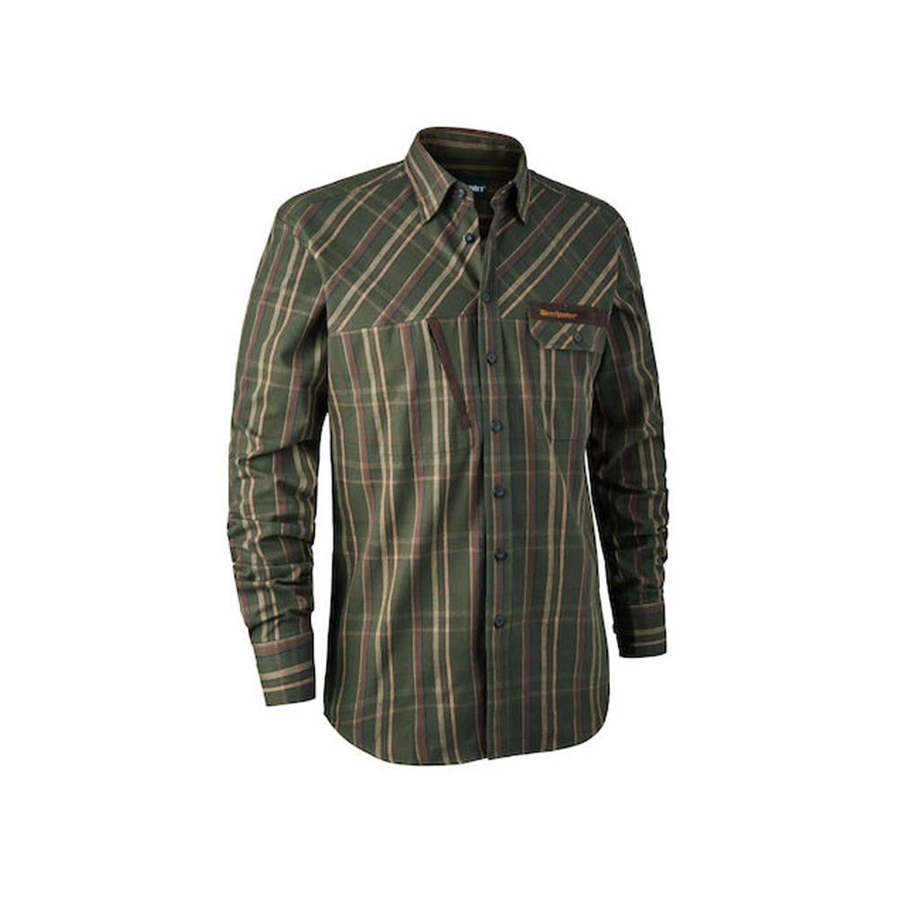 Deerhunter Keith Overhemd - Green Check-1
