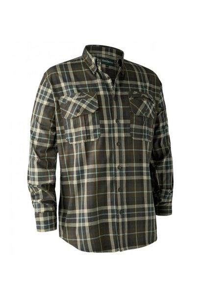 Deerhunter Caribou Overhemd - Green Check