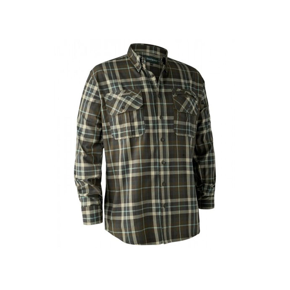 Deerhunter Caribou Overhemd - Green Check-1