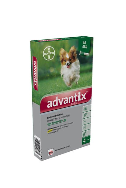 Bayer Advantix 4 x 0.4ml
