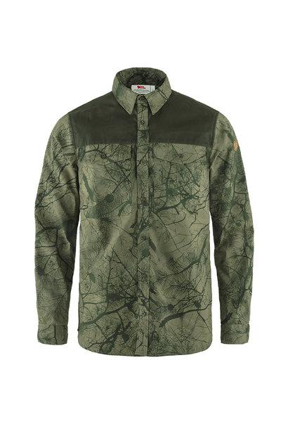 Fjällräven Värmland G-1000 Shirt M Green Camo/Deep Forest