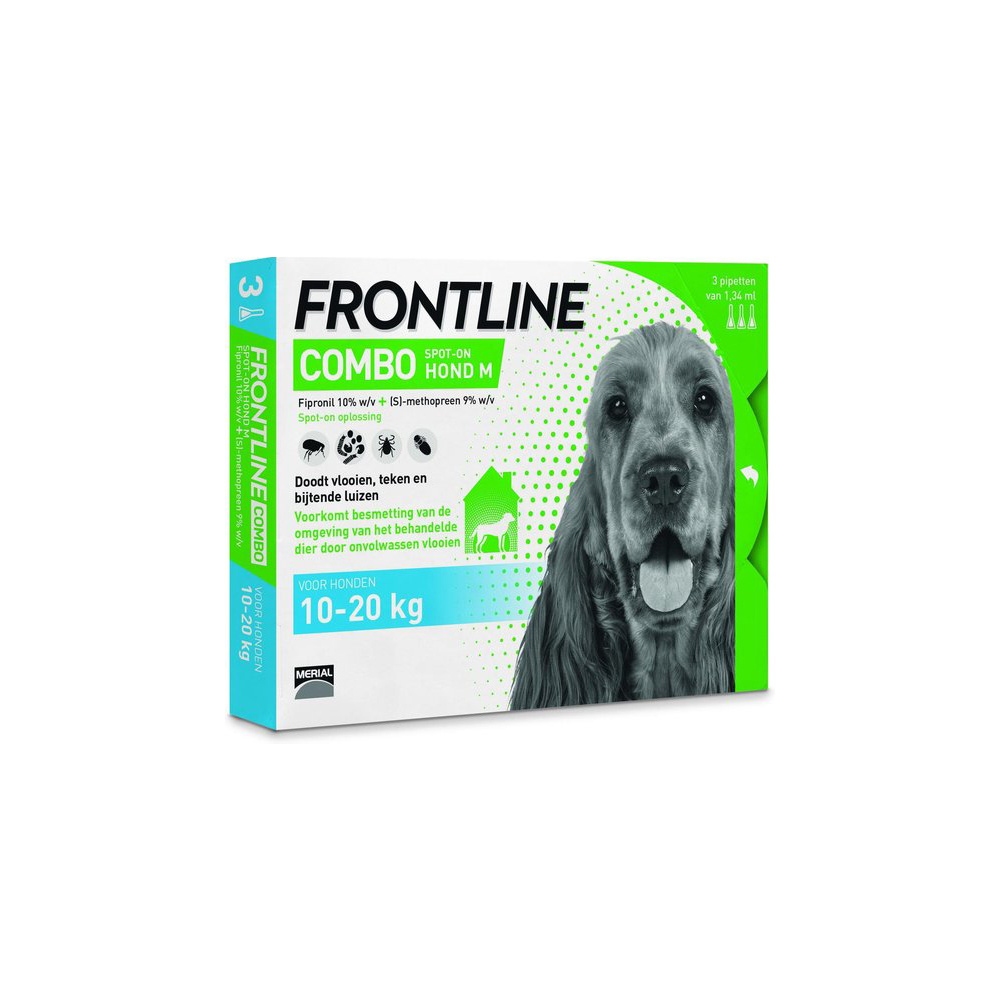Frontline Combo M 3 x 1.34ml-1