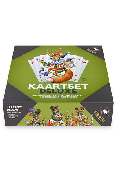 Barrel and Boar Kaartset Deluxe