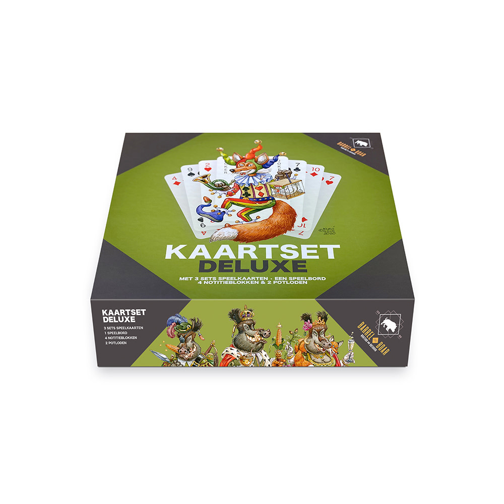 Barrel and Boar Kaartset Deluxe-1
