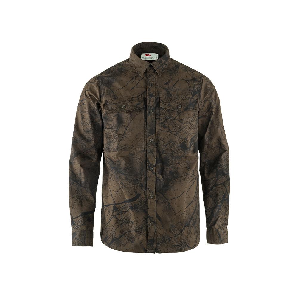 Fjällräven Värmland G-1000 Shirt M Dark Olive Camo-1
