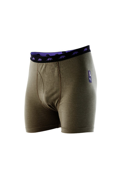 Armadillo M's Rammy Boxer Voorsluiting Light Olive