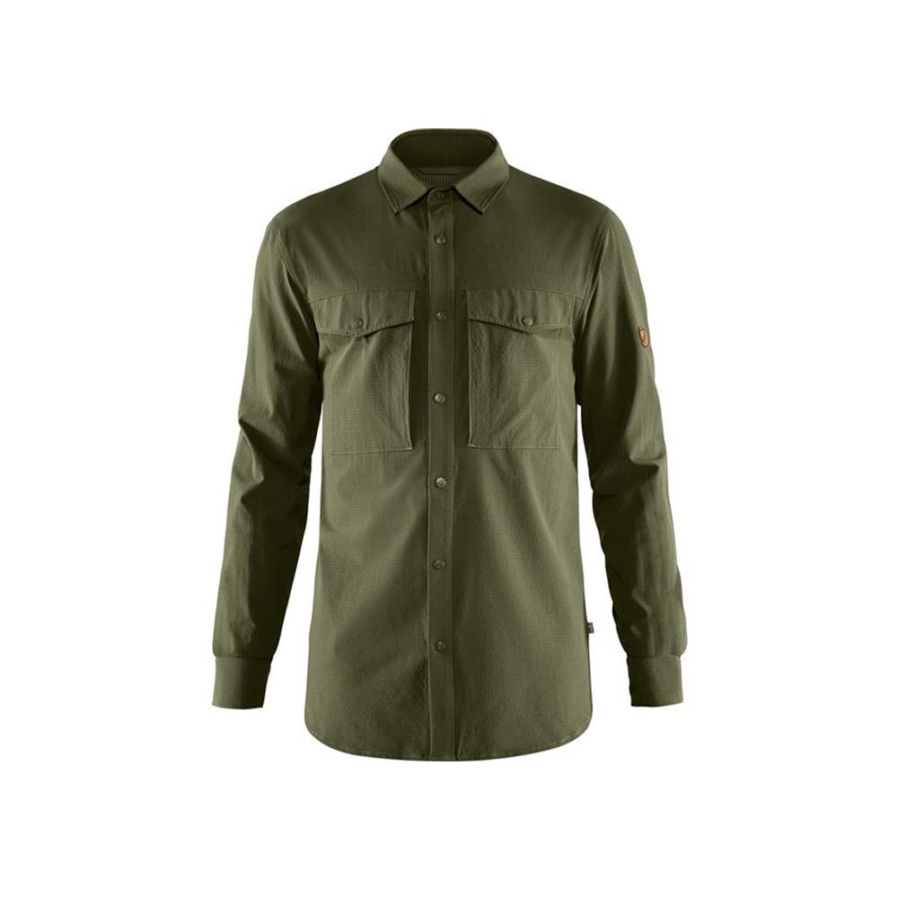 Fjällräven Abisko Trekking Shirt - Laurel Green-1