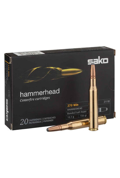 Sako Hammerhead 156 gr. .270 Win