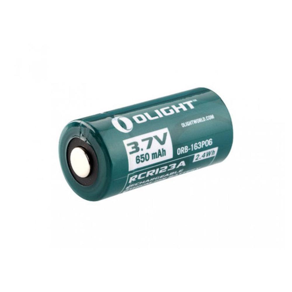 Olight Oplaadbare RCR123A Batterij 650mAh 3.7V.-1