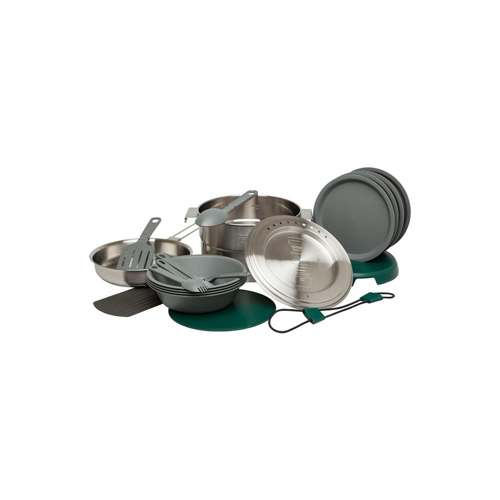 Stanley 3.5L Full Kitchen Base Camp Kook Set RVS-1