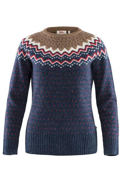 Fjällräven Övik Knit Sweater W Navy