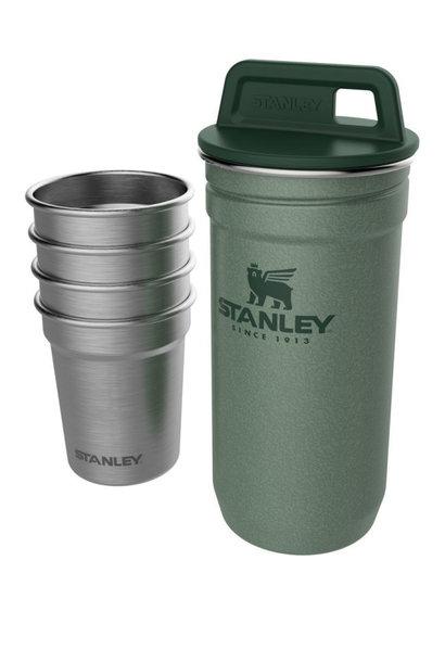 Stanley Nesting Shotjes Set Hammertone Green