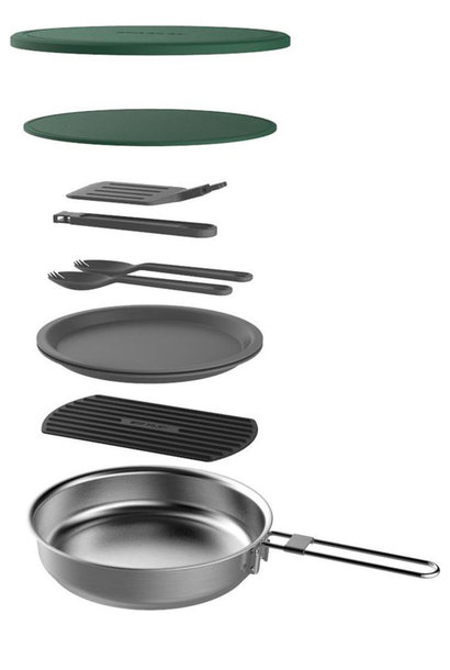 Stanley 1.0L All-in One Braadpan Set RVS
