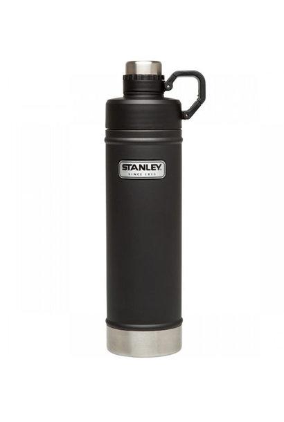 *Black Friday Deal* Stanley Classic Vacuüm Waterfles Matte Black 0,75L